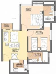 850 sqft, 2 bhk Apartment in Jaypee Aman Sector 151, Noida at Rs. 9000