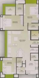 1982 sqft, 3 bhk Apartment in Vaishnodevi Lifestyle Adajan, Surat at Rs. 20000