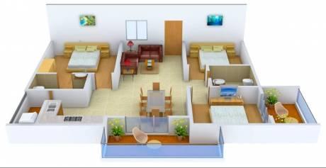 1460 sqft, 3 bhk Apartment in Muppa Alankrita Narsingi, Hyderabad at Rs. 23000