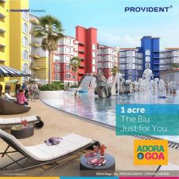 810 sqft, 2 bhk Apartment in Provident Adora De Goa 4 Dabolim, Goa at Rs. 45.0000 Lacs