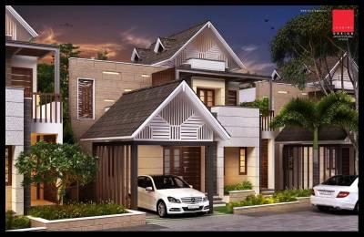 1224 sqft, 3 bhk Villa in Builder OMG Venezia OttapalamCherppulassery Road, Palakkad at Rs. 38.9000 Lacs