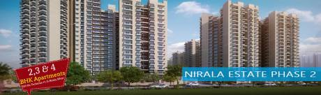 955 sqft, 2 bhk Apartment in Nirala Estate II Techzone 4, Greater Noida at Rs. 33.7300 Lacs