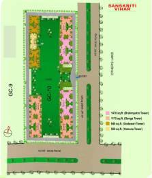 555 sqft, 1 bhk Apartment in Gaursons India Ltd. Gaur City 2 11th Avenue Knowledge Park, Greater Noida at Rs. 21.0900 Lacs