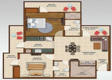 1160 sqft, 2 bhk Apartment in Ace ACE Aspire Sector 16 Noida Extension, Greater Noida at Rs. 39.9900 Lacs