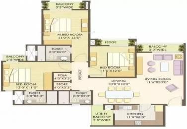 1920 sqft, 3 bhk Apartment in Godrej Anandam Ganeshpeth, Nagpur at Rs. 1.2100 Cr