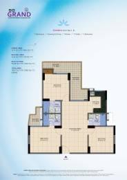 1380 sqft, 3 bhk Apartment in SG Grand Raj Nagar Extension, Ghaziabad at Rs. 38.6400 Lacs