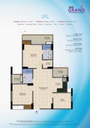 1150 sqft, 2 bhk Apartment in SG Grand Raj Nagar Extension, Ghaziabad at Rs. 32.2000 Lacs