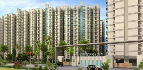 1475 sqft, 3 bhk Apartment in Proview Officer City Raj Nagar Extension, Ghaziabad at Rs. 44.2500 Lacs