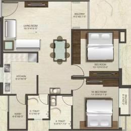 1230 sqft, 2 bhk Apartment in Sonal Highlands Gotri Road, Vadodara at Rs. 26.0000 Lacs