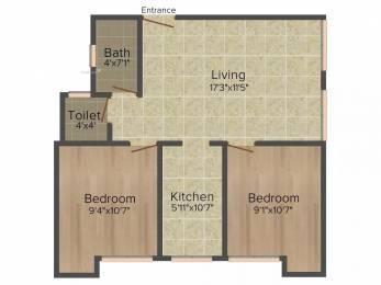 710 sqft, 2 bhk Apartment in Arun Madhulika Oragadam, Chennai at Rs. 30.0000 Lacs