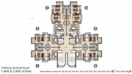 882 sqft, 2 bhk Apartment in Builder Project Thane, Mumbai at Rs. 27000