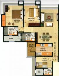 1432 sqft, 2 bhk Apartment in Neelkanth Palms Thane West, Mumbai at Rs. 33000