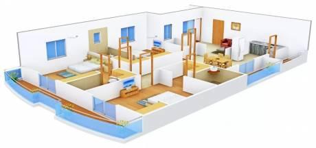 2711 sqft, 3 bhk Apartment in Vaishnavi Fresh Living Apartments Madhapur, Hyderabad at Rs. 45000