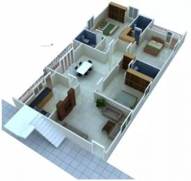 2057 sqft, 3 bhk Apartment in Jubilee Cyber Grande Madhapur, Hyderabad at Rs. 48000