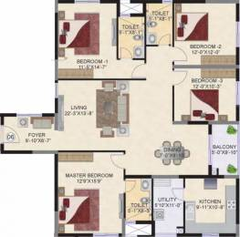 2082 sqft, 4 bhk Apartment in Mahindra Ashvita Kukatpally, Hyderabad at Rs. 1.1800 Cr