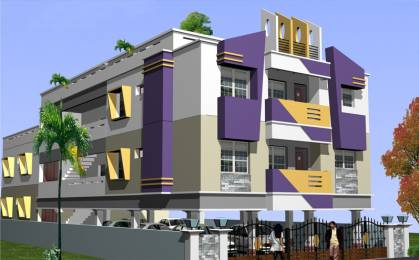 1400 sqft, 2 bhk Apartment in Builder Project Valasaravakkam, Chennai at Rs. 25000