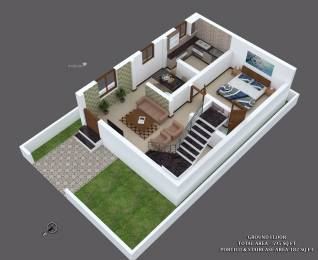 1000 sqft, 2 bhk IndependentHouse in Builder MK BUILDERS SEZ Keeranatham Road, Coimbatore at Rs. 38.8630 Lacs
