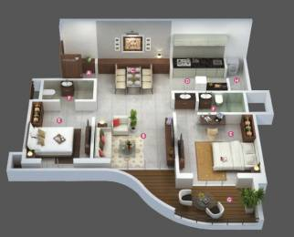 1100 sqft, 2 bhk Apartment in Builder Project Dange Chowk, Pune at Rs. 15500