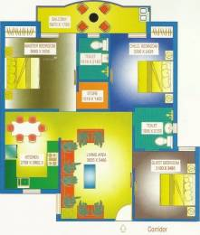 1389 sqft, 3 bhk Apartment in Trehan THD Garden Samtel Road, Bhiwadi at Rs. 30.0000 Lacs