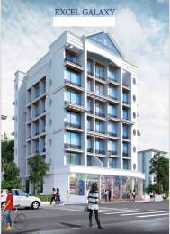700 sqft, 1 bhk Apartment in Excel Galaxy Ulwe, Mumbai at Rs. 48.0000 Lacs