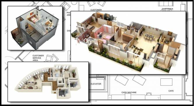 1336 sqft, 3 bhk Apartment in Renowned Lotus Sristhi Crossing Republik, Ghaziabad at Rs. 46.0000 Lacs