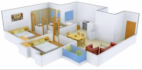 1216 sqft, 2 bhk Apartment in Pratham Riviera Apartments Atladara, Vadodara at Rs. 6000
