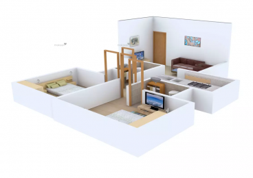 960 sqft, 2 bhk Apartment in Poddar Samadhan Apartments Goregaon West, Mumbai at Rs. 1.7500 Cr