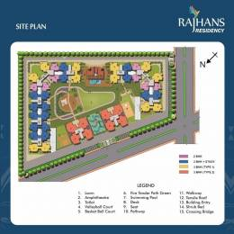 997 sqft, 2 bhk Apartment in Rajhans Residency Sector 1 Noida Extension, Greater Noida at Rs. 30.0000 Lacs