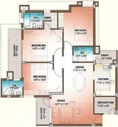 1686 sqft, 3 bhk Apartment in Soul Mayfair Sector 70, Mohali at Rs. 35000