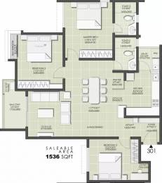 1536 sqft, 3 bhk Apartment in Durga Projects And Infrastructure Petals Doddanekundi, Bangalore at Rs. 40000
