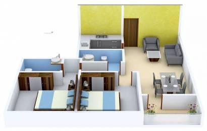 1021 sqft, 2 bhk Apartment in Ambuja Udvita Ultadanga, Kolkata at Rs. 70.0000 Lacs