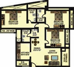 1985 sqft, 3 bhk Apartment in Moraj Casa Grande Koperkhairane, Mumbai at Rs. 2.7500 Cr