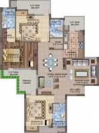 1910 sqft, 3 bhk Apartment in Motia Royal Citi Apartments Gazipur, Zirakpur at Rs. 18000