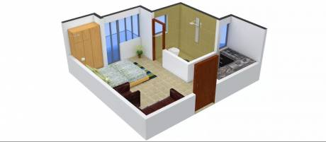 408 sqft, 1 bhk Apartment in Urbtech Xaviers Sector 168, Noida at Rs. 23.0000 Lacs