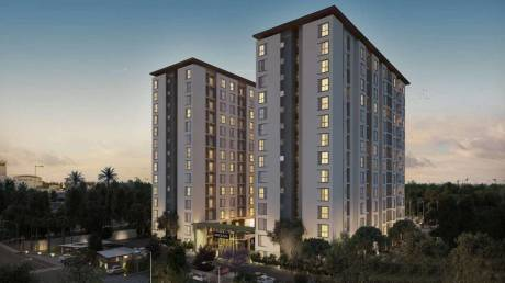 990 sqft, 2 bhk Apartment in Assetz Here and Now Thanisandra, Bangalore at Rs. 67.0000 Lacs