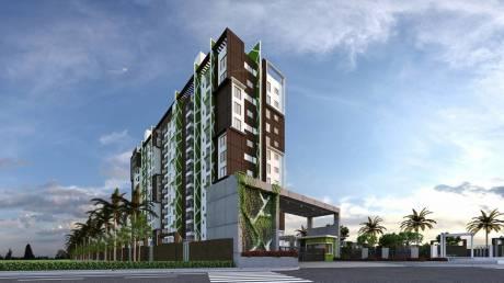 810 sqft, 1 bhk Apartment in CoEvolve Northern Star Jakkur, Bangalore at Rs. 45.6100 Lacs
