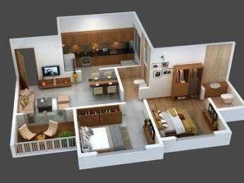 1000 sqft, 2 bhk Apartment in Pharande Woodsville Phase 1 D1 and D3 Buildings Chikhali, Pune at Rs. 1.4000 Lacs