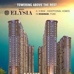 1070 sqft, 2 bhk Apartment in Nyati Elysia I Kharadi, Pune at Rs. 78.0000 Lacs