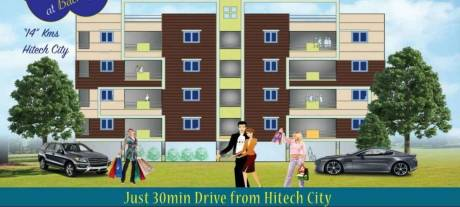 1180 sqft, 2 bhk Apartment in Builder Project Miyapur, Hyderabad at Rs. 32.4500 Lacs