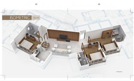 1289 sqft, 3 bhk Apartment in Nine Dimensions Shanta Durga Mahim, Mumbai at Rs. 4.8000 Cr
