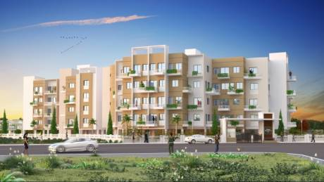 873 sqft, 2 bhk Apartment in Pristine Village Residency 2 Nere, Pune at Rs. 32.7288 Lacs