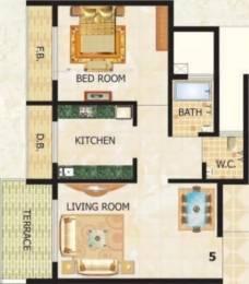 690 sqft, 1 bhk Apartment in Lakhani Classico Ulwe, Mumbai at Rs. 50.0000 Lacs