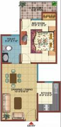 600 sqft, 1 bhk Apartment in Vidur Brave Hearts 1 Raj Nagar Extension, Ghaziabad at Rs. 17.0000 Lacs
