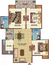 1300 sqft, 3 bhk Apartment in Vidur Brave Hearts 1 Raj Nagar Extension, Ghaziabad at Rs. 36.0000 Lacs