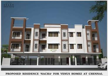940 sqft, 2 bhk Apartment in Builder nacha venus homez Saligramam, Chennai at Rs. 87.0000 Lacs