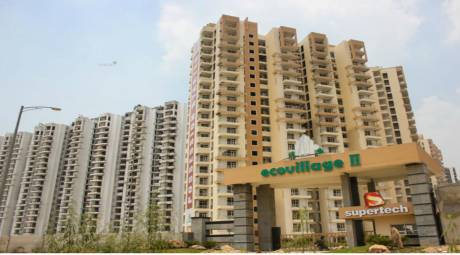 1100 sqft, 2 bhk Apartment in Supertech Eco Village II Noida Phase II, Noida at Rs. 36.3600 Lacs