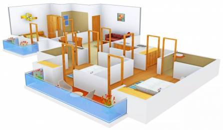 1441 sqft, 3 bhk Apartment in Stellar Jeevan Sector 1 Noida Extension, Greater Noida at Rs. 11500
