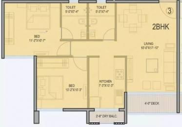 1245 sqft, 2 bhk Apartment in  Palazzio Jogeshwari East, Mumbai at Rs. 1.9000 Cr