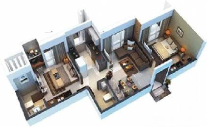 830 sqft, 2 bhk Apartment in Sethia Sea View Goregaon West, Mumbai at Rs. 32000
