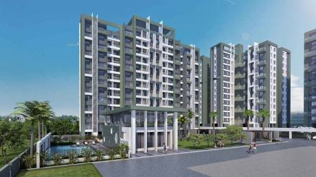 750 sqft, 2 bhk Apartment in Chandrarang Developers and Kate Jagtap Basileo Apartment Pimple Gurav, Pune at Rs. 85.9300 Lacs